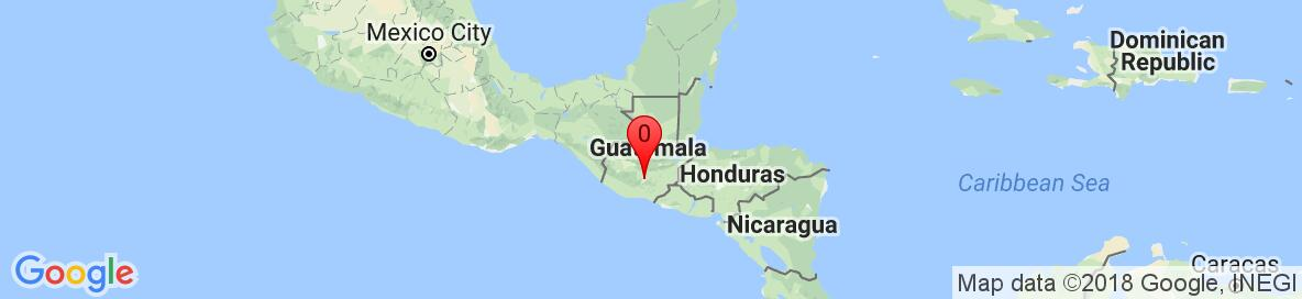 Map of Guatemala. Detailed map cannot be displayed.