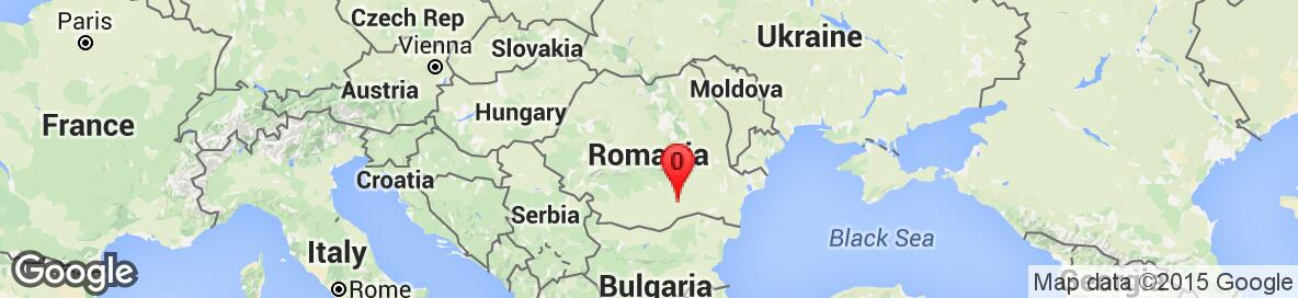 Map of Romania. No detailed map is available.