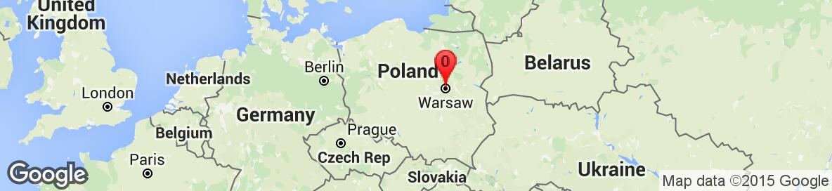 Map of Poland. Detailed map cannot be displayed.