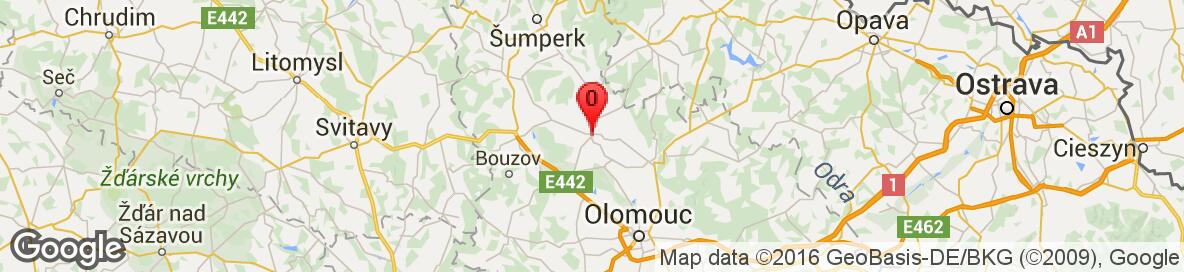 Map of Uničov, Olomouc District, Olomouc Region, Czech Republic. More detailed map is available only for registered users. Please register or log in.