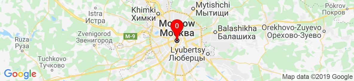 Map of Moscow, Russia. More detailed map is available only for registered users. Please register or log in.