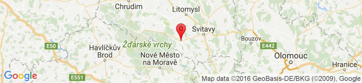 Map of Policka, Svitavy District, Pardubice Region, Czech Republic. More detailed map is available only for registered users. Please register or log in.