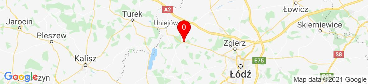 Map of Poddębice, Poland. More detailed map is available only for registered users. Please register or log in.