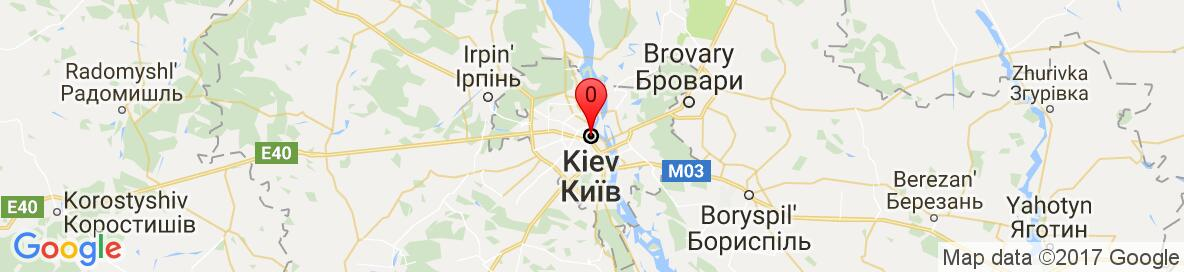 Map of Kiev, Kyiv City, Ukraine. More detailed map is available only for registered users. Please, register or log in.