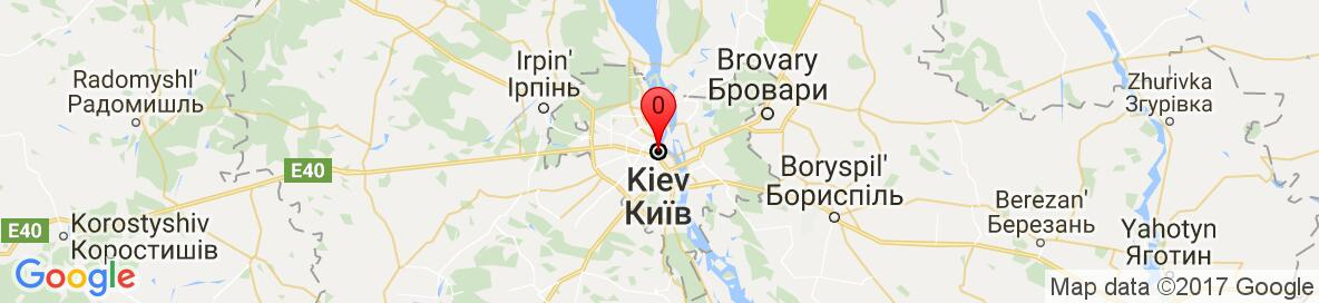 Map of Kiev, Kyiv City, Ukraine. More detailed map is available only for registered users. Please register or log in.