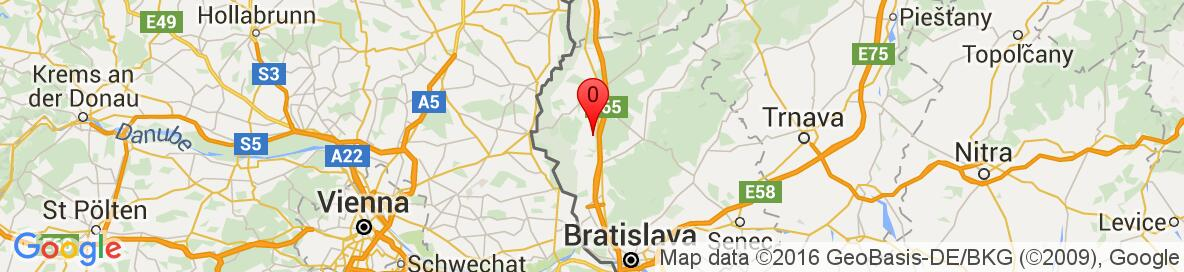 Map of Plavecký Štvrtok, Malacky District, Bratislava Region, Slovakia. More detailed map is available only for registered users. Please register or log in.